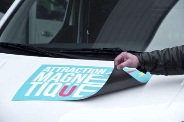 Magnétique véhicule - ACAS Print