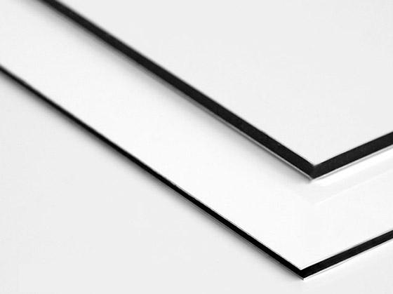 Panneau aluminium blanc - ACAS PRINT