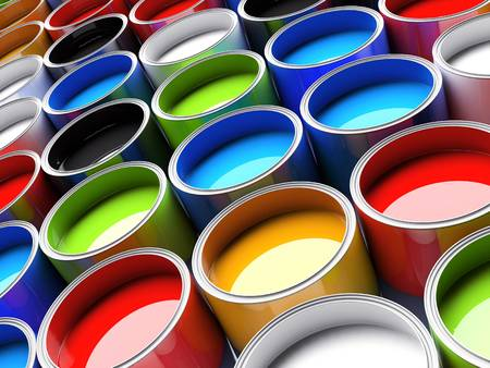 Pots peinture couleurs - ACAS PRINT